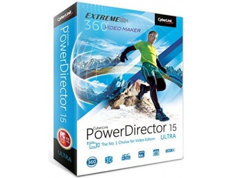 59% off Cyberlink PowerDirector 15 Ultra