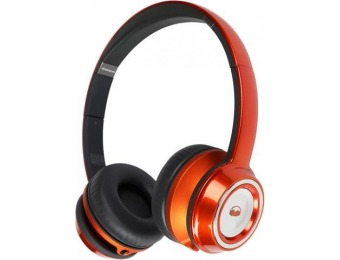 $90 off Monster NTUNE On-Ear Headphones (Candy Tangerine)