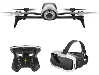 $400 off Parrot Bebop 2 Quadcopter w/ Skycontroller 2 and FPV Glasses