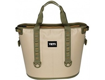 $215 off YETI Hopper 40 Portable Cooler Field Tan / Blaze Orange