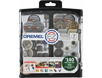 40% off Dremel EZ725 All-Purpose Accessory Storage Kit, 70-Pc