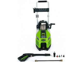 52% off GreenWorks GPW2001 13 amp 2000 PSI 1.2 GPM Electric Pressure Washer