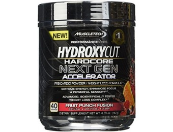 75% off MuscleTech Hydroxycut Hardcore Next Gen Weight Loss Formula