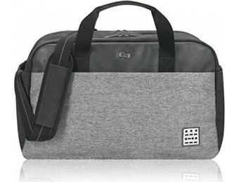 80% off Solo Impulse 17.3 Inch Laptop Duffel, Black/Grey