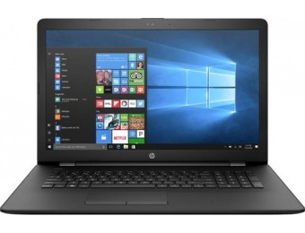 "$100 off HP 17-AK013DX 17.3"" Laptop, AMD A9-Series, 4GB, 1TB"