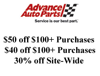 $50 off $100+ Purchases at Advance Auto Parts