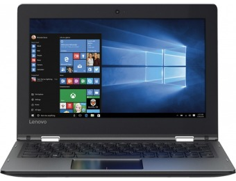 "$50 off Lenovo Flex 4 1130 2-in-1 11.6"" Touch-Screen Laptop 64GB"