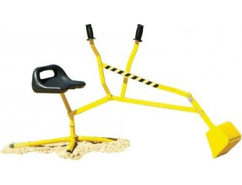 73% off Big Dig Ride-on working Crane