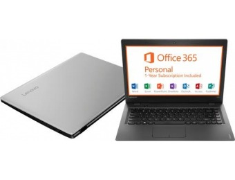 "32% off Lenovo 80R900FPUS 14"" Laptop"