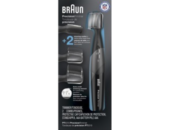 40% off Braun Trimmer with 2 Guide Combs