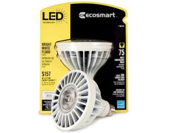 Up to 59% off EcoSmart LED 4 Packs at Home Depot