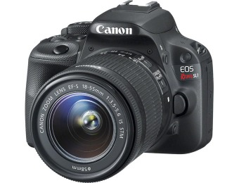 $200 off Canon EOS Rebel SL1 18MP SLR w/ 18-55mm Lens