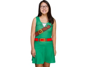 63% off Legend of Zelda Link Drop Waist Dress