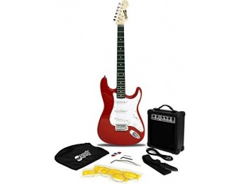 54% off RockJam Electric Guitar Super Pack w/ Amp, Gig Bag, ...