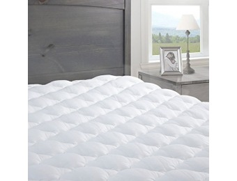 25% off Pressure Relief Mattress Pad with Fitted Skirt