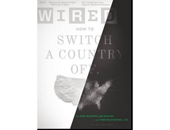 98% off Wired Magazine - 6 month auto-renewal