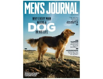 92% off Men's Journal Magazine Subscription, $5 / 12 Issues