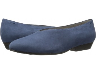 69% off Eileen Fisher Sabin (Denim Tumbled Nubuck) Women's Slip on Shoes
