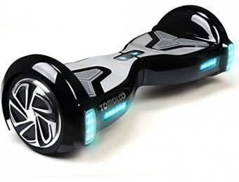 $326 off TOMOLOO Hoveroard with Bluetooth Speaker and Lights