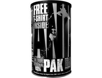 53% off Animal Pak Supplements with Free T Shirt