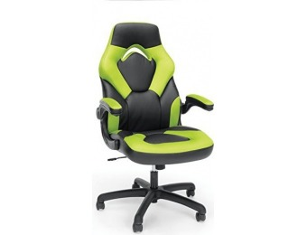 84% off Essentials Racing Style Leather Gaming Chair