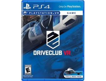75% off DRIVECLUB VR PlayStation 4
