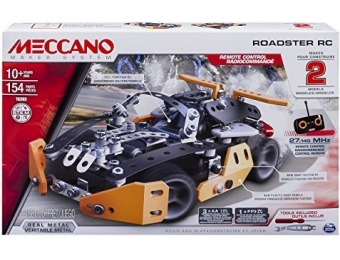 55% off Meccano Roadster RC Model Building Set, STEM Education Toy