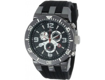 87% off Joshua & Sons Men's JS55BK Swiss Chronograph Sport Watch