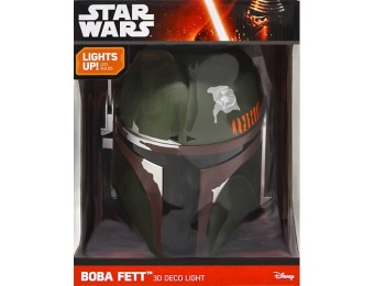 90% off Star Wars Episode 7 3D Boba Fett Night-Light