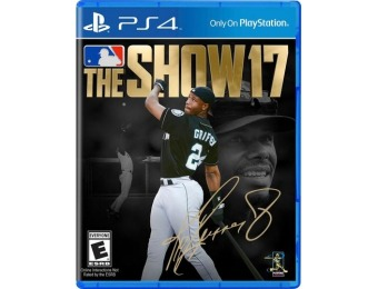 67% off MLB The Show 17 PlayStation 4