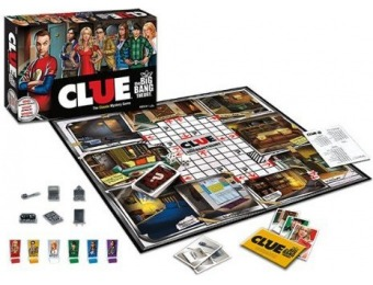 50% off Clue: The Big Bang Theory