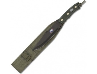 "47% off Fury Paramilitary 10.5"" Fixed Blade Knife with Compass"