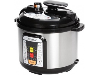 60% off Tayama B8 5-Qt 5-in-1 Multi-Cooker and Pressure Cooker