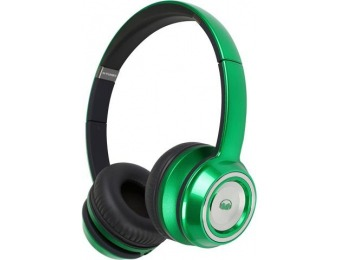 $95 off Monster NTUNE On-Ear Headphones (Candy Lime Green)