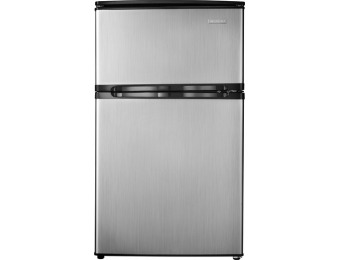 $100 off Insignia 3.0 Cu. Ft. Mini Fridge - Stainless Look