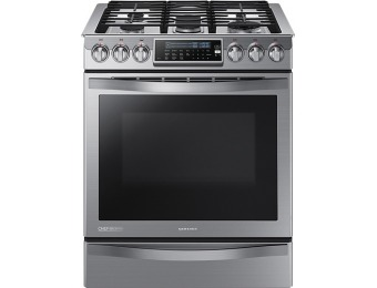 $1,162 off Samsung Chef Collection Self-Cleaning Gas Convection Range