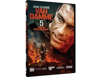 60% off Jean-Claude Van Damme - 5 Movie Pack (DVD)