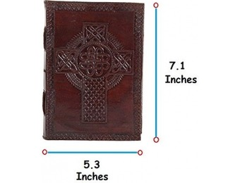 71% off RusticTown Handmade Vintage Leather Bound Journal