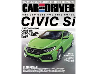 93% off Car and Driver Magazine 1 Year Subscription