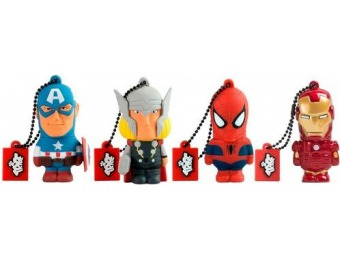 80% off Marvel Avengers 16GB USB 2.0 Type A Flash Drive
