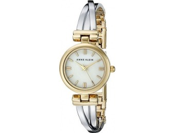$165 off Anne Klein Women's Two-Tone Bangle Watch