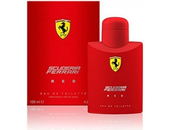 72% off Ferrari Red by Ferrari for Men - 4.2 Ounce EDT Spray