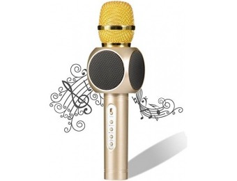 69% off Pecosso Wireless Bluetooth Karaoke Microphone w/ Speaker