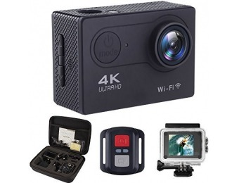 $243 off ALOFOX WiFi 16MP Waterproof 4K Action Camera