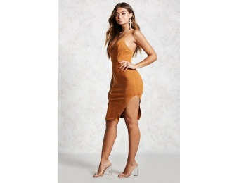 65% off Faux Suede Dress