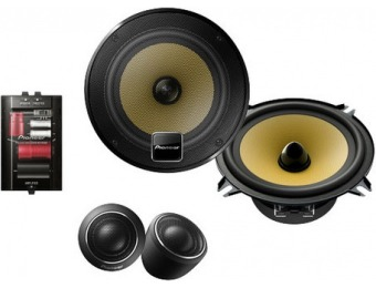 "51% off Pioneer D-Series 5.25"" 2-Way Component Car Speakers with Twaron Woofer Cones (Pair)"