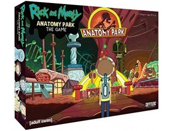 37% off Cryptozoic Entertainment Rick and Morty Anatomy Park Game