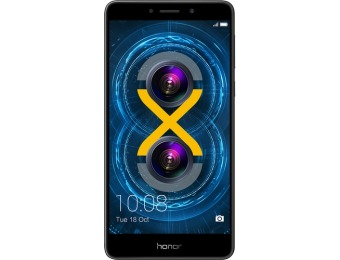 $70 off Huawei Honor 6x 4G LTE 32GB Cell Phone (Unlocked)