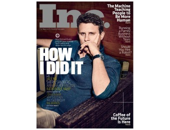$54 off INC Magazine Subscription, 10 Issues / $5