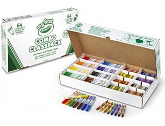 56% off Crayola My First Combo Classpack 128ct